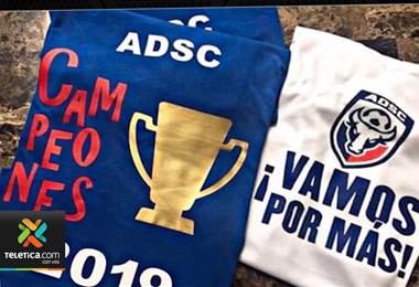 San Carlos aclara que no está haciendo camisetas de campeón