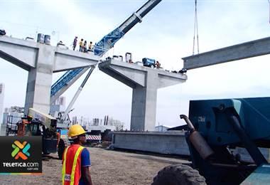 Inicia colocación del viaducto en Circunvalación norte