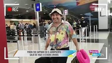 Piñón emprendió su primer viaje de trabajo