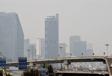Contaminación en Ciudad de México. Foto AFP