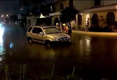 Inundación en Curridabat