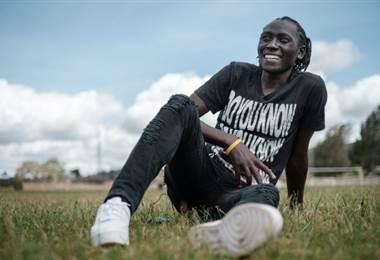 Margaret Wambui, atleta keniana con hiperandroginia. Foto AFP