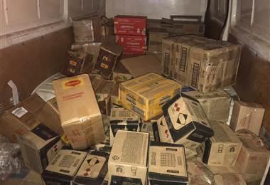 Fuerza Pública decomisó mercadería por presunta evasión fiscal en Heredia