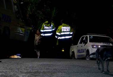 Motociclista falleció la noche de este miércoles tras derrapar en Alajuelita