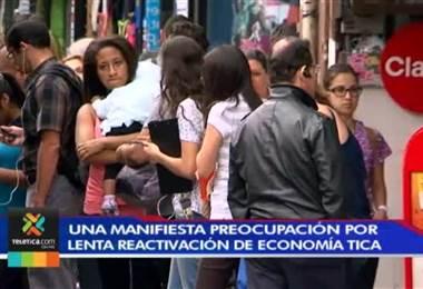 UNA manifiesta preocupación por la lenta reactivación de la economía costarricense