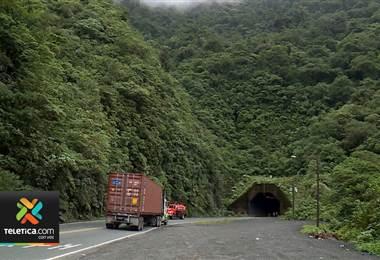 Cierres parciales este viernes en la ruta 32 por trabajos de mantenimiento en el túnel Zurquí