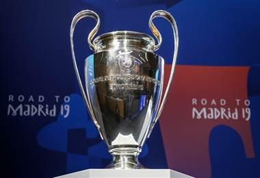 Trofeo de la Champions. AFP