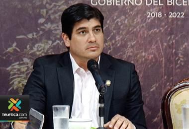 Carlos Alvarado defiende a jerarcas que firmaron contratos por los que se condenó al PAC por estafa