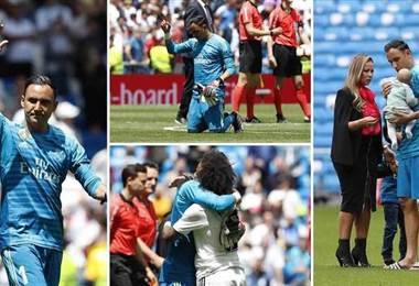 Así se despidió Keylor Navas del Santiago Bernabéu | TOMADA DE DIARIO AS