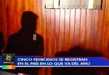 Cinco femicidios se registran en el país en lo que va del año