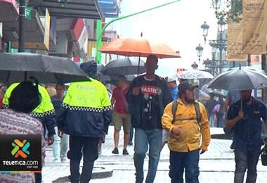 Lluvia que cayó el sábado en una hora equivale a tres veces a un aguacero normal