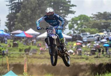 Fabricio Chacón se adueñó de la Pista La Olla en la tercera fecha del motocross