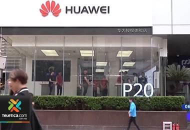 Huawei. Foto de archivo