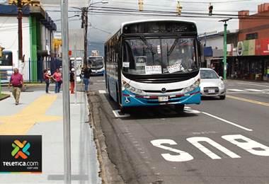 CTP instalará cámaras para monitorear el carril exclusivo para buses en Guadalupe
