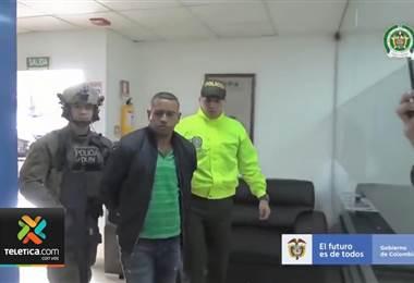 Narco colombiano estuvo en Costa Rica negociando cargamentos de droga