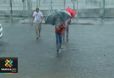 CNE lleva atendidos poco más de 162 incidentes por lluvias en las últimas horas