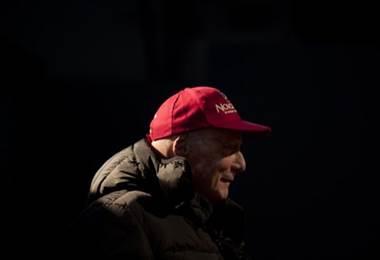 Niki Lauda, Fórmula 1.   AFP