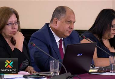 40 diputados votaron a favor de inhabilitar a expresidente Luis Guillermo Solís para cargos públicos