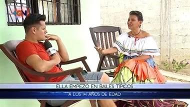 Doña Mayela, la folklorista de Bagaces