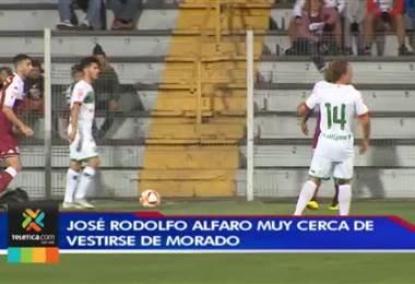 Saprissa prepara la llegada del joven José Rodolfo Alfaro