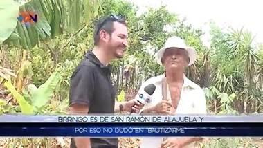 """El día en que bautizaron a Ernesto como: """"Garrobito"""""""