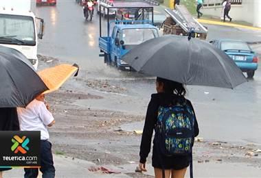 CNE atendió 39 eventos causados por lluvias en las últimas 24 horas