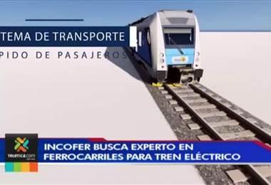 Incofer busca un experto en ferrocarriles para integrar el equipo del tren eléctrico
