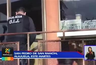 Sospechoso de doble crimen detenido en San Ramón pasará seis meses en prisión preventiva