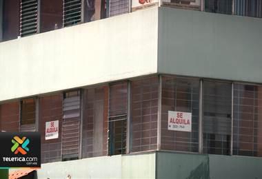 26.000 m2 de locales comerciales están desocupados solamente en el centro de San José