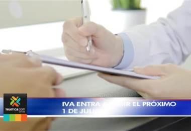 Contribuyentes tienen hasta el 1° de julio para ajustar su actividad comercial antes de que rija la entrada del IVA