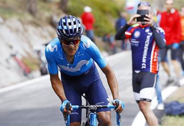 Richard Carapaz, ciclista ecuatoriano del Movistar Team   Movistar Team