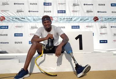 Sherman Güity, para atleta costarricense   CON