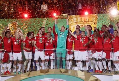 Bayern Munich se coronó campeón de la Copa de Alemania | Twitter