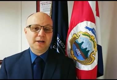 Michael Soto, ministro de Seguridad   Prensa Ministerio Público
