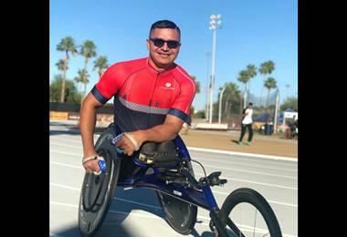 atleta Paraolímpico José Jiménez obtuvo la medalla de bronce en Arizona, Estados Unidos   CON