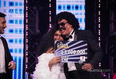 Arlene Elizondo y Elvis Tico ganan la gala 13