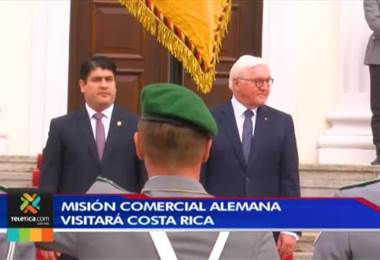 Misión comercial alemana visitará a Costa Rica