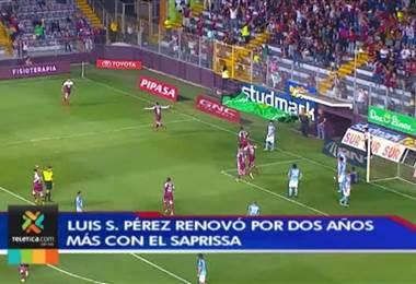Saprissa renovó a Luis Stwart Pérez y analiza el futuro de Rubilio Castillo