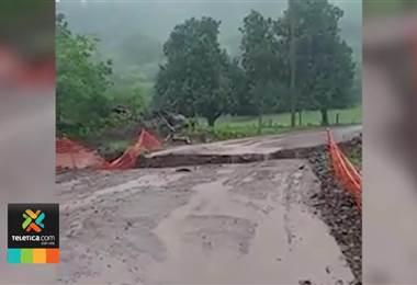CNE mantiene alerta amarilla en Pacífico Norte Central y Zona Norte debido a las fuertes lluvias