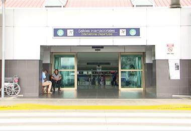 Aeropuerto Juan Santamaría. Foto de archivo