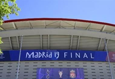 Estadio Wanda Metropolitano está listo para la final de Champions League   AFP