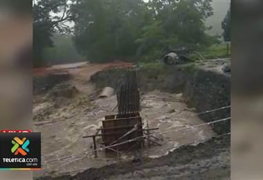 Paquera en Península de Nicoya amaneció con seria afectación tras las lluvias
