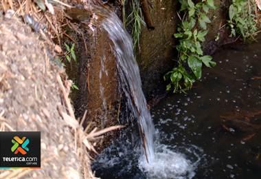 Recurso hídrico en Costa Rica. Foto de archivo