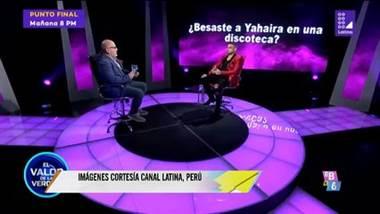 Coto Hernández confesión en programa peruano