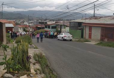 Hombre falleció tras recibir varios disparos en Cartago