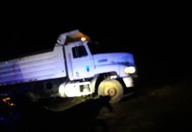 Este jueves en la noche fue el asalto al camión remesero