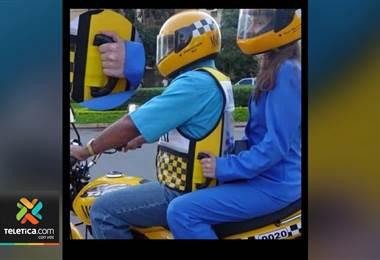 Empresa costarricense propone habilitar servicio de transporte en moto para reducir las presas