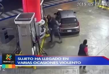 Agresor de pistero en gasolinera de San Pedro ha llegado en otras ocasiones con actitud violenta