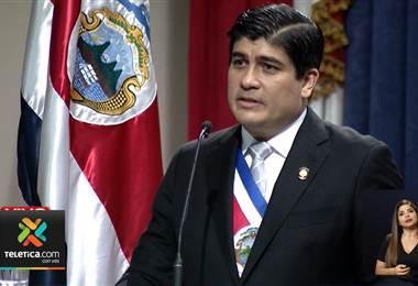 Alvarado rindió cuentas y pidió aprobación de educación dual y eurobonos