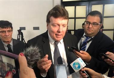 El diputado del PIN, Walter Muñoz.
